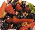 Receta para hacer ensalada de frutas rojas