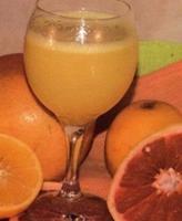 Jugo nutricional sabrosos con nutrientes