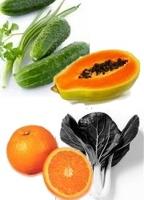 Jugo de frutas y verduras para bajar de peso