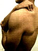 Técnica para masajear los hombros