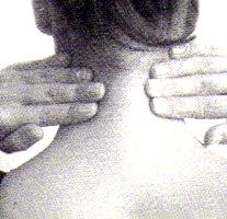 Para destensar los músculos del cuello