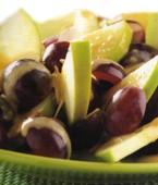 Como preparar ensalada de manzana y uva