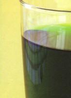 Preparación de agua con sabor a cicle muy nutritiva y saludable