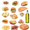 Diferentes grasas de los alimentos