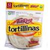 Cuántas calorías tienen las tortillinas tía rosa