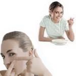 Menú para combatir el acné