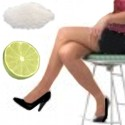 Exfoliante casero de piernas