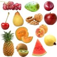 Cantidad de calorías que aportan las frutas