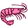 Calorías del camarón