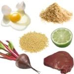 Propiedades de la colina o vitamina B7