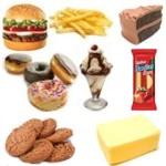 Ejemplos de alimentos con grasas trans