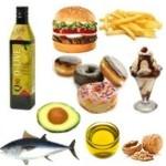 Información sobre grasas en los alimentos