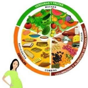 Dieta correcta durante el embarazo