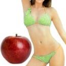 Cuánto se baja con la dieta de las manzanas