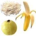 ¿En que favorece el licuado de plátano guayaba y amaranto?