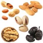 Lista de snacks sanos bajos en calorías