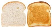 ¿Es bueno tostar el pan?