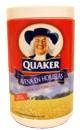 La avena quaker clásica se come cruda