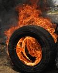Consecuencias por la quema de llantas viejas