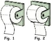 ¿Cuál es la colocación adecuada del papel higiénico en el WC?