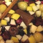 Beneficios del ponche de frutas navideño
