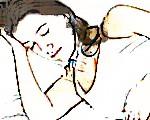 Dormir sobre el lado izquierdo contra la acidez