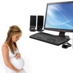 ¿Hace daño estar mucho tiempo en la computadora estando embarazada?