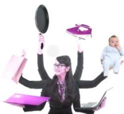 Porque las mujeres son multitareas