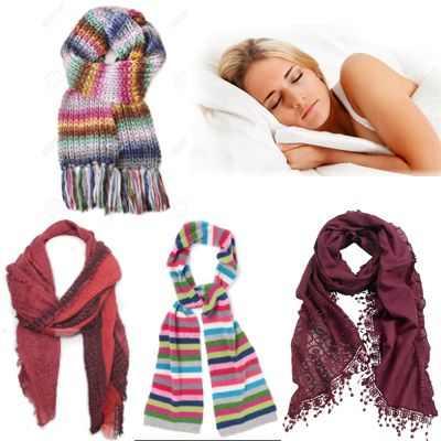 Dormirse con bufanda