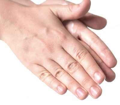 Cuando tenemos frío nos frotamos las manos