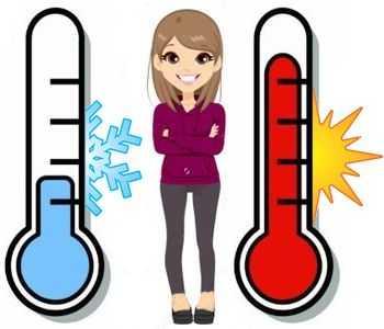 Son malos los cambios bruscos de temperatura