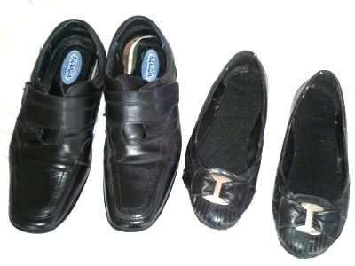 Usar zapatos prestados