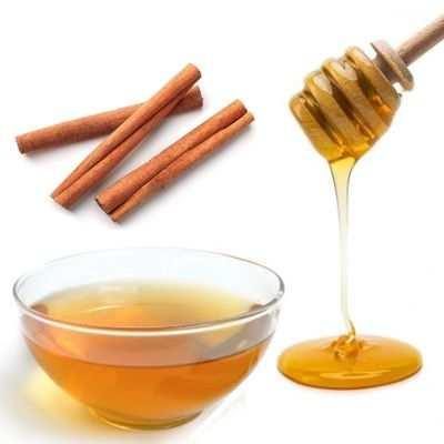 Mucho té de canela con miel