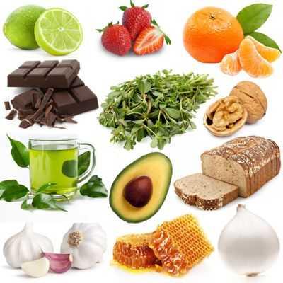 Alimentos que benefician las vías respiratorias