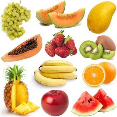 Diversidad de frutas es bueno