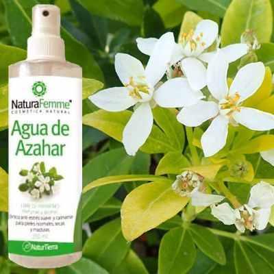 Efectos del agua de azahar en la piel