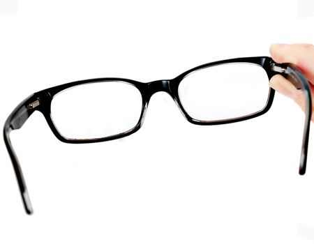Me da pena y tengo que usar lentes