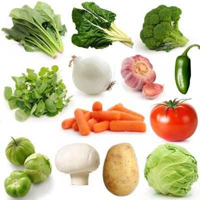 ¿Qué alimentos hacen parte de las verduras?