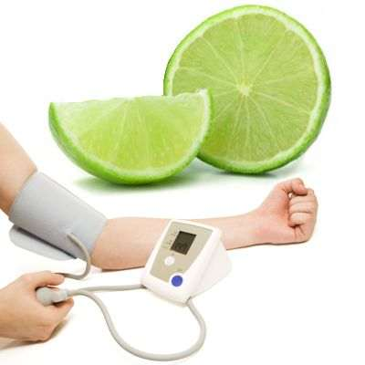 El limón baja la presión arterial