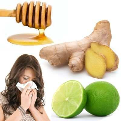 Como quitar la gripe con jengibre