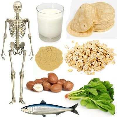 ¿Para qué sirve el calcio en la osteoporosis?