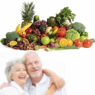 Recomendaciones alimentarias para la tercera edad