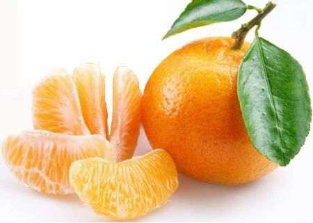Agua de mandarina en ayunas