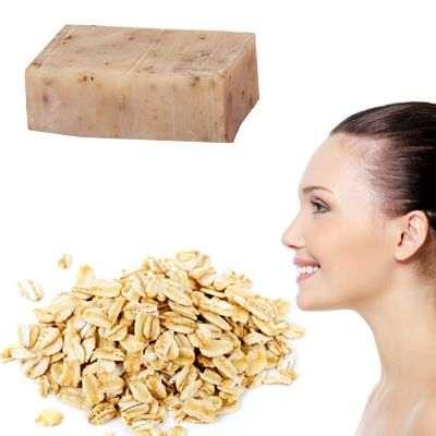 El jabón de avena aclara la piel