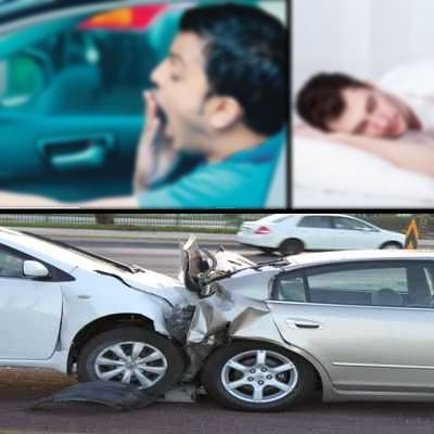 Es peligroso manejar sin dormir bien