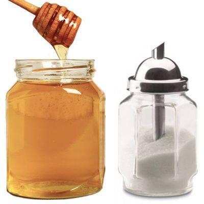Es bueno reemplazar el azúcar por la miel