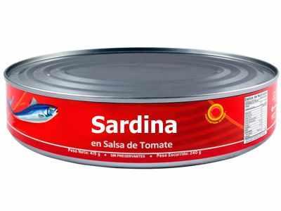 ¿La sardina en lata engorda?