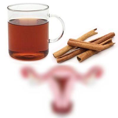 Sirve el té de canela para la menstruación