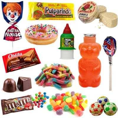 Exceso de dulces en el cuerpo