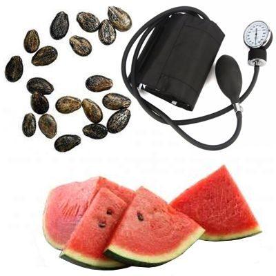 Cura de semillas de sandía para la hipertensión